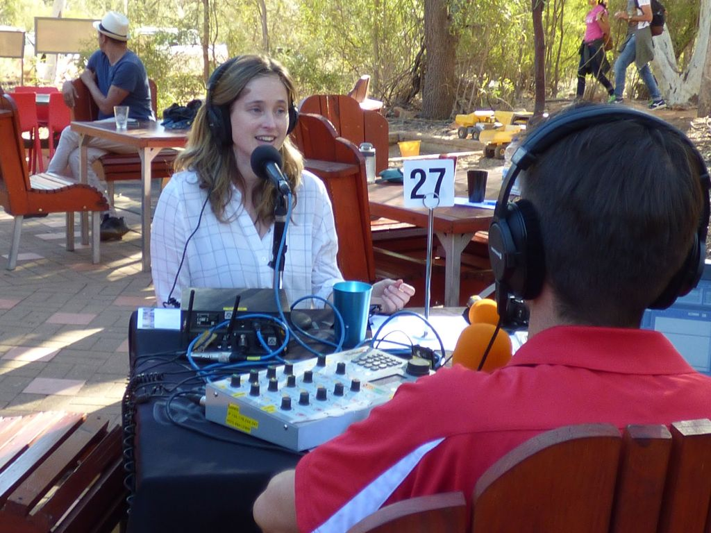 ABC Outside Broadcast (9th Aug 2019) · Alice Springs