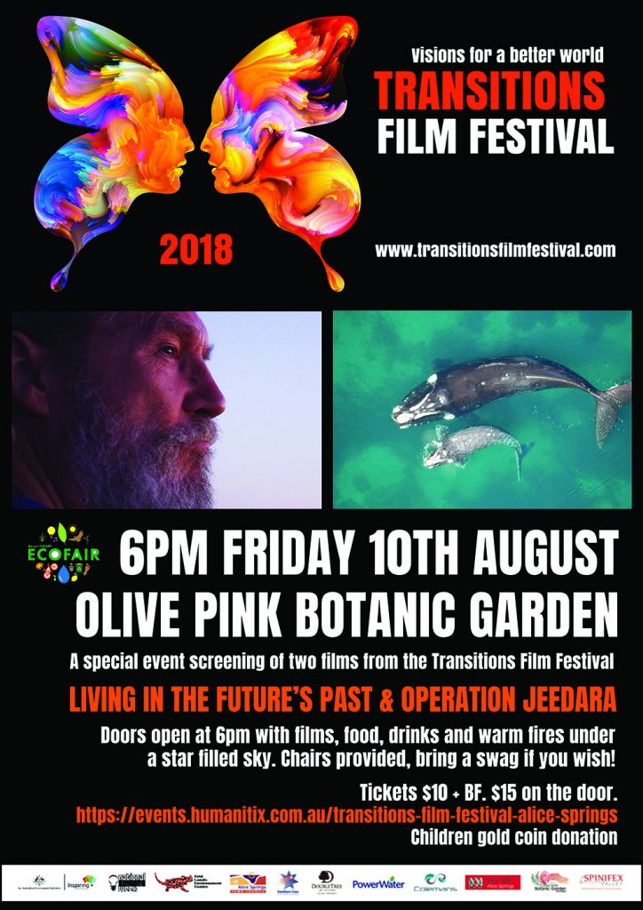 Transitions Film Festival (10th Aug 2018) · Alice Springs
