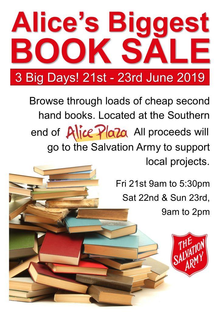 Alice's Biggest Book Sale (21st Jun 2019) · Alice Springs