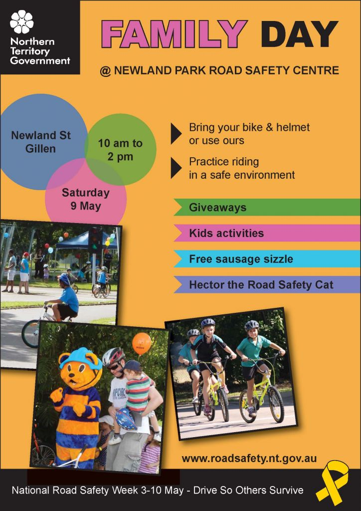 Newland park road safety centre family day 9th may 2015 for Au jardin d alice flers
